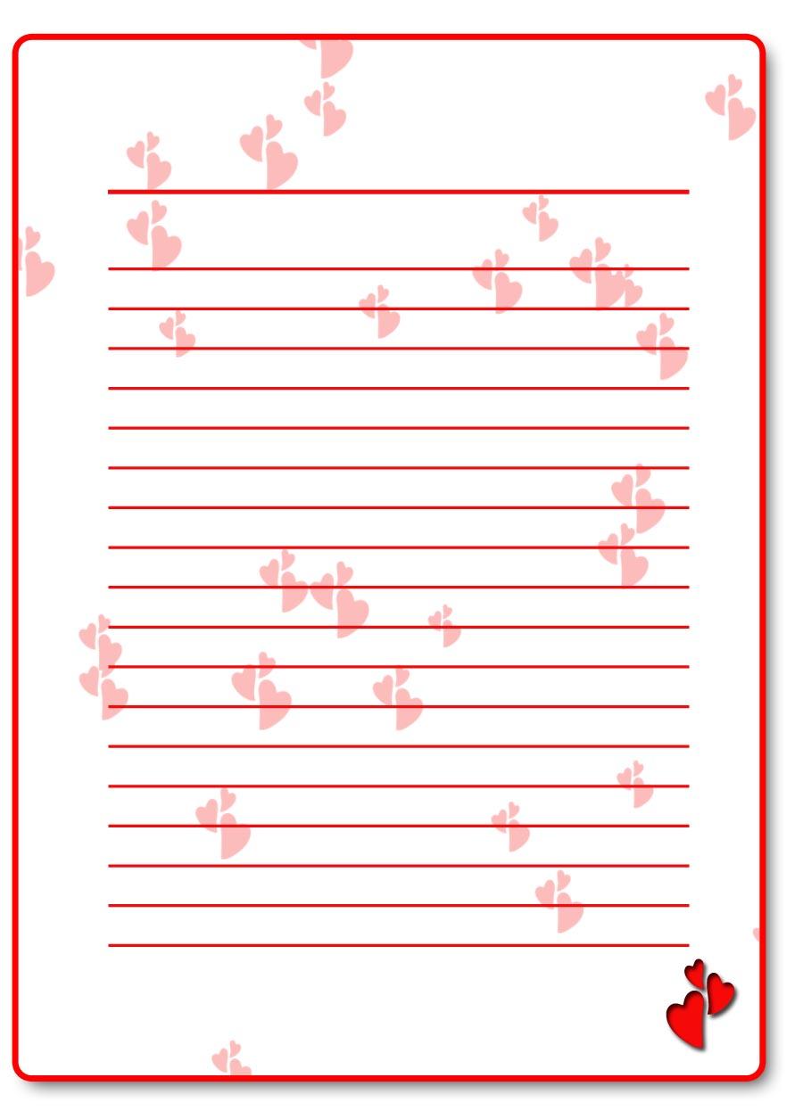 Картинках, шаблоны для письма любимому