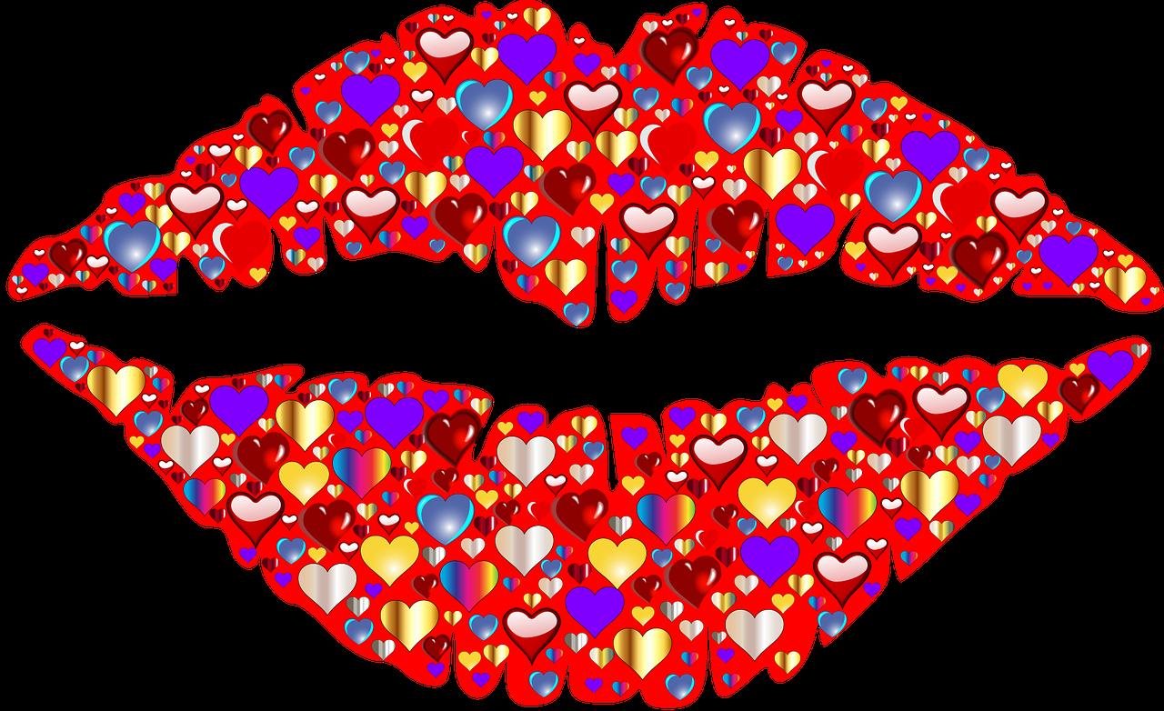 Дорогой куме, открытки поцелуи и сердце